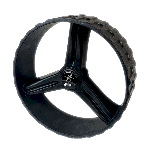 MGI Quad Rear Wheel Black
