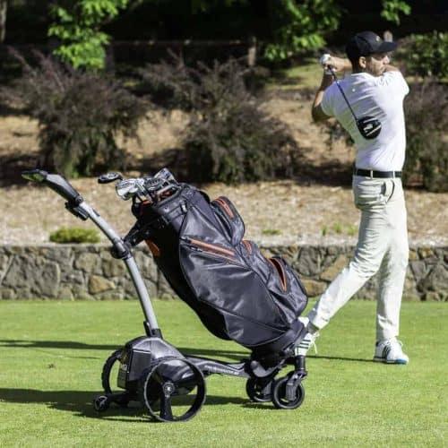 Electric golf buggies