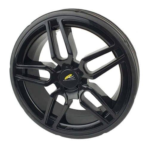 Powakaddy rear wheel black